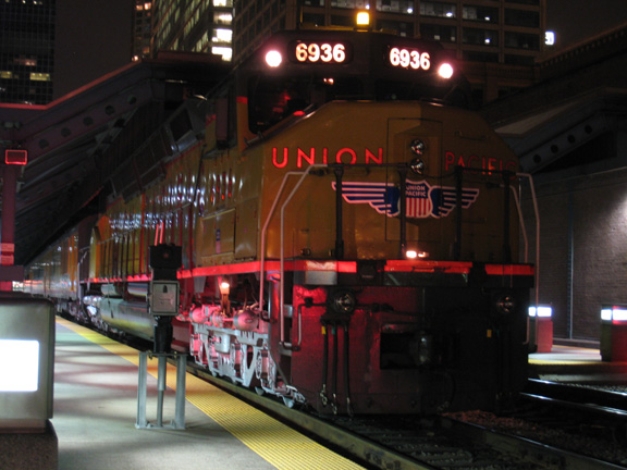 Steven S. Gearhart, Union Pacific Train in Chicago