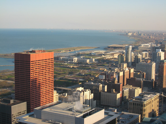 Steven S. Gearhart, Chicago Skyline, CNA Building