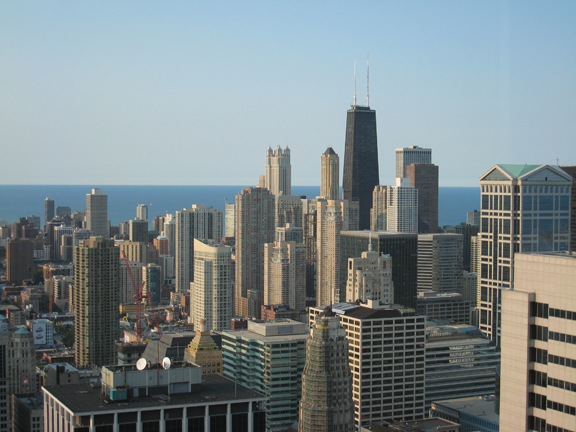 Steven S. Gearhart, Chicago Skyline