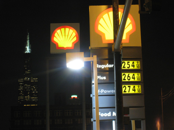 Steven S. Gearhart, Chicago Sears Tower, Shell Station